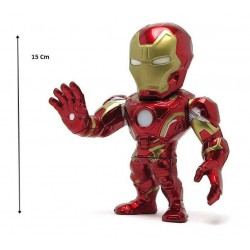 Figura Iron Man 15cm (Nano Metal Figs)