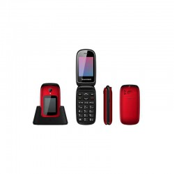 Telefono Sunstech CELT22 Rojo