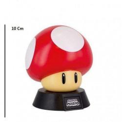 Lampara 3D Seta Super Mario