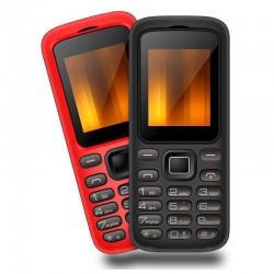 """Teléfono Qubo Gea 1,77"""" Rojo"""