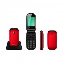 Telefono Sunstech CELT17 Rojo
