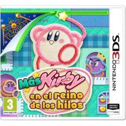 Más Kirby en el reino de los Hilos - 3DS