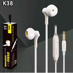 Auricular Manos Libres in-ear K38 Negro
