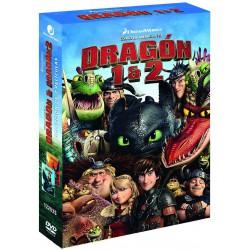 Cómo entrenar a tu dragón 1 y 2 - DVD