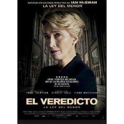 El veredicto (La ley del menor) - DVD