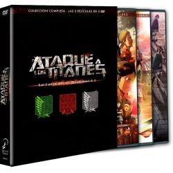 Ataque A Los Titanes. Las Películas. (Temporada 1+2) - DVD