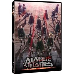 Ataque A Los Titanes. Temporada 2. El Rugido Del Despertar - DVD
