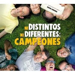 Pack Campeones + Ni distintos ni diferentes: Campeones  - DVD
