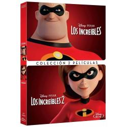 Los increíbles 1+2 - DVD