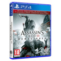 Assassins Creed III Remastered - PS4