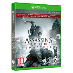 Assassins Creed III Remastered - Xbox one