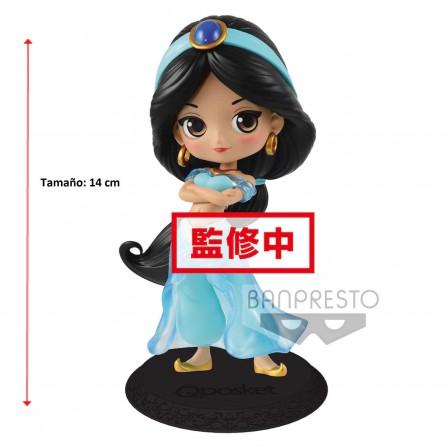 Figura Jasmine Princess Q Posket Disney 14cm