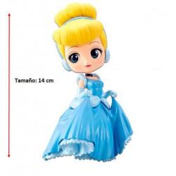 Figura Cinderella Q Posket Disney 14cm