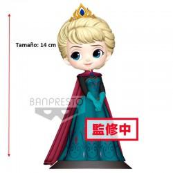 Figura Elsa Coronat Q Posket Disney 14cm