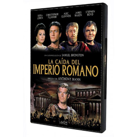 La caída del imperio romano - DVD