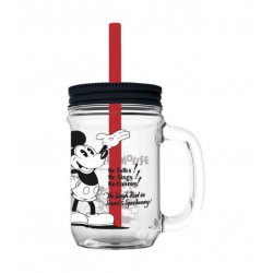 Jarra pajita mickey 90 year disney 690ml