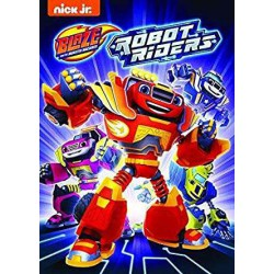 Blaze y los Monster Machines 12: Robots Corredores - DVD