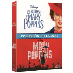 Mary Poppins + El regreso de Mary Poppins - BD