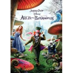 Alicia En El País De Las Maravillas (Tim Burton) - DVD
