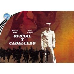 Oficial y caballero (Edición horizontal) - DVD