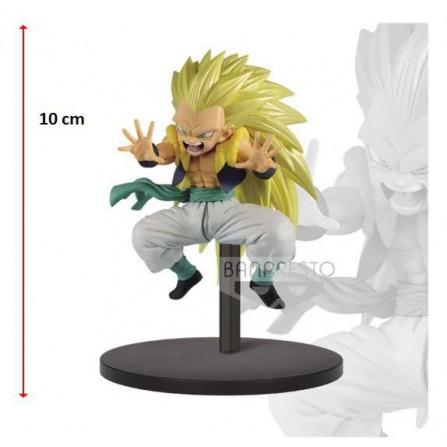 Figura Gotenks Super Saiyan 10cm (Dragon Ball Super)