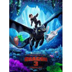 Como entrenar a tú dragón 3  - DVD