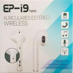 Auriculares Estéreo Wireless EP-I9 TWS