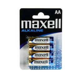 Pila Maxell LR06 AA MN1500 Alkalin 4 Ud.