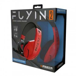 Headset Fuyin 2.0 Red (PS4-SW-PC-X1) - PS4