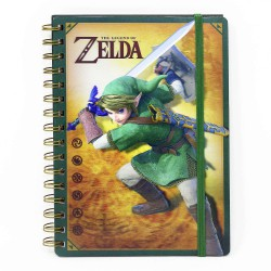 The Legend Zelda spiral Notebook 3D Link