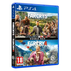 Far Cry 4 + Far Cry 5 Double Pack - PS4
