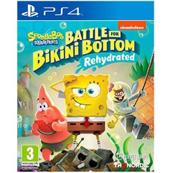 Spongebob Squarepants Battle for Bikini Bottom Rehydrated - PS4