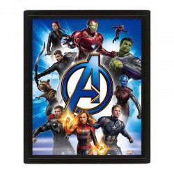 Cuadro 3D To Action Avengers Endgame