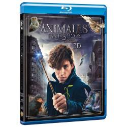 Animales fantásticos y donde encontrarlos BD3D - DVD