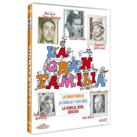 La gran familia (1, 2 y 3) - DVD