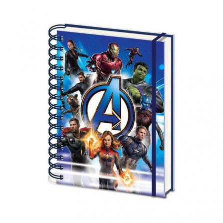 Avengers Endgame Cuaderno A5 to Action