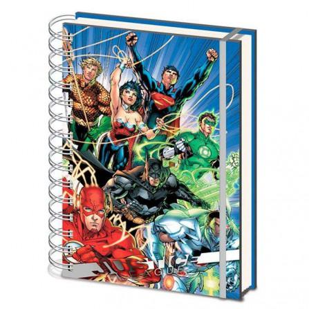Liga de la Justicia Wiro Notebook United