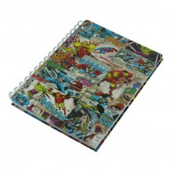 Marvel 3D Cover Wiro Notebook Comic
