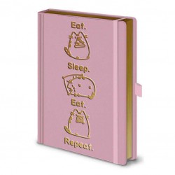 Pusheen Notebook Premium Eat Sleep Eat