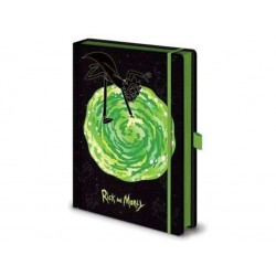 Rick & Morty Notebook Premium Portal
