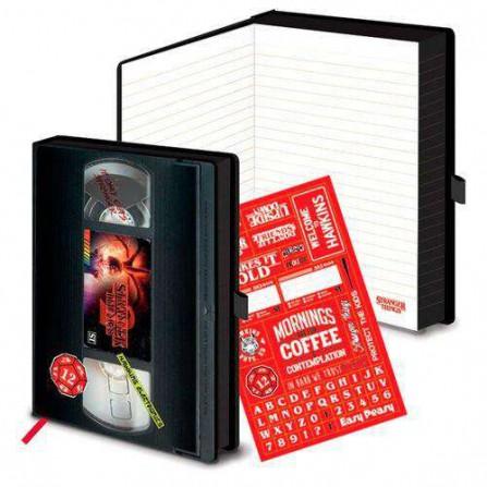 Stranger Things Cuaderno A5 Premium S2