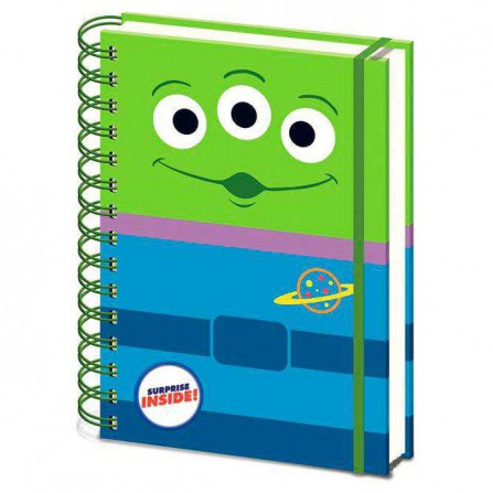 Toy Story Cuaderno A5 Espiral Alien