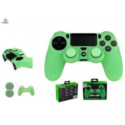 Silicona mando verde + Grips FR-Tec - PS4