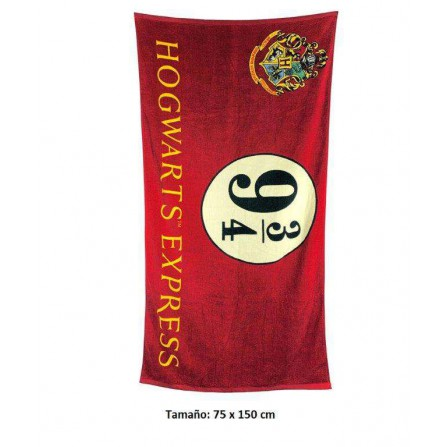 Toalla Hogwarts Expres 9 3/4 Harry Potter