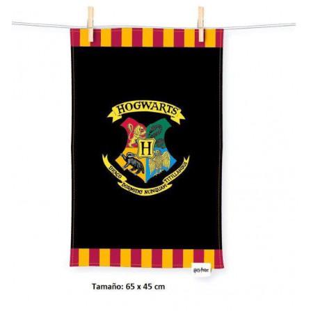Toalla Hogwarts Tea Towel (65x45) Harry Potter