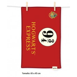 Toalla Hogwarts Express 9 3/4 Harry Potter