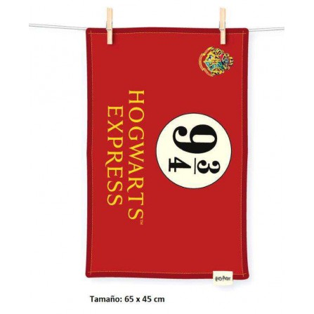 Toalla Hogwarts Express 9 3/4 Harry Potter