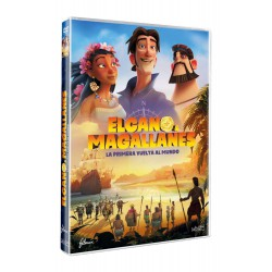Elcano y Magallanes: la primera vuelta al mundo - DVD