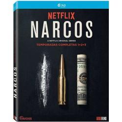 Narcos (1ª 2ª 3ª  Temporada) - BD