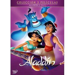 Pack trilogía Aladdin - DVD